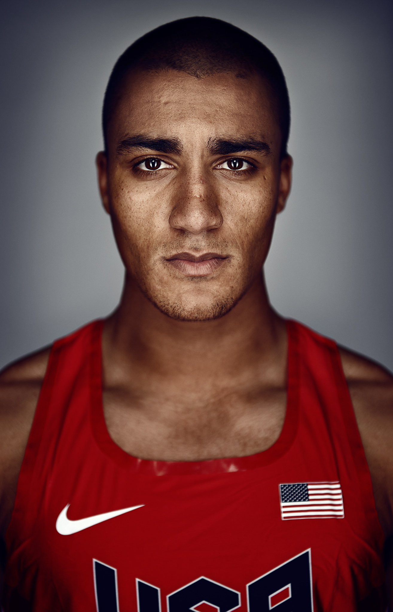 Portrait of Ashton Eaton, World Record Holder | Zach Ancell Photography