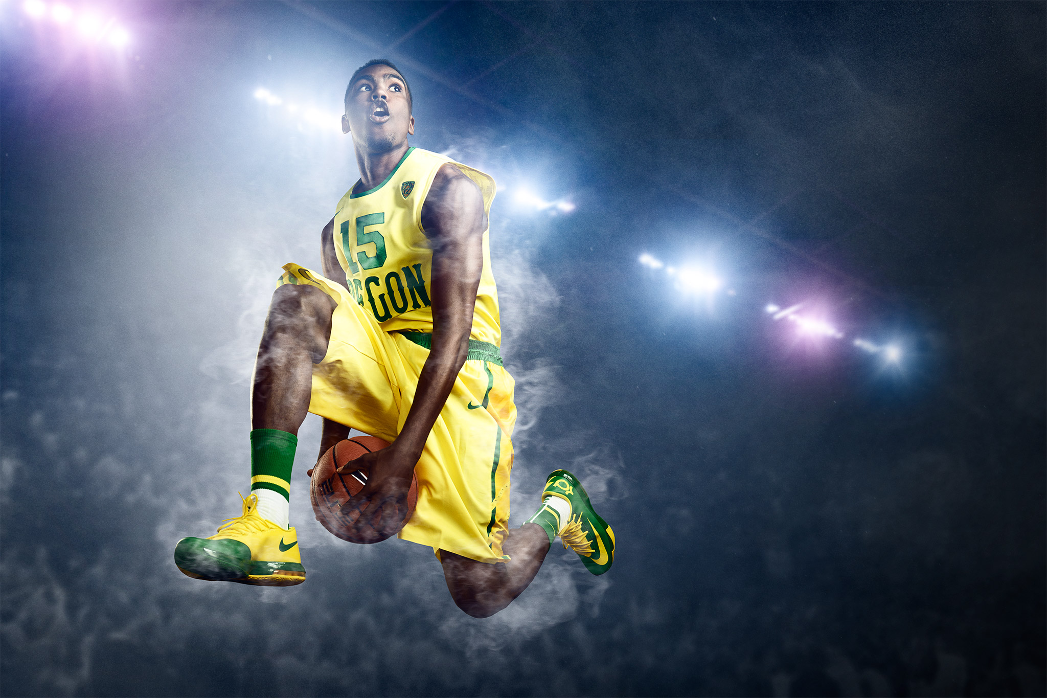 Jalil Abdul-Bassit Basketball U of O | Zach Ancell Photography