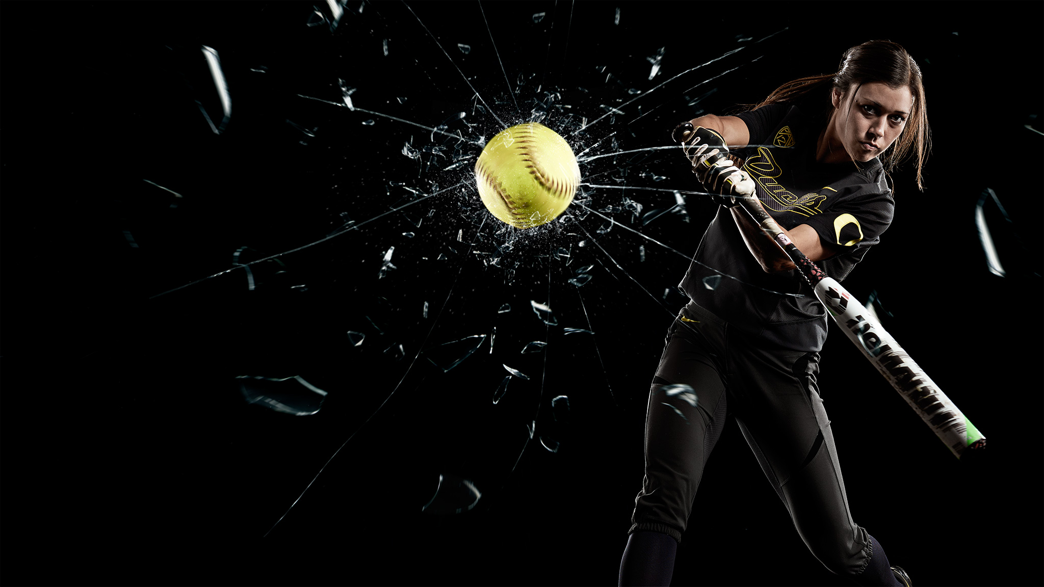 Janie Takeda Shatters Glass | Zach Ancell Photography