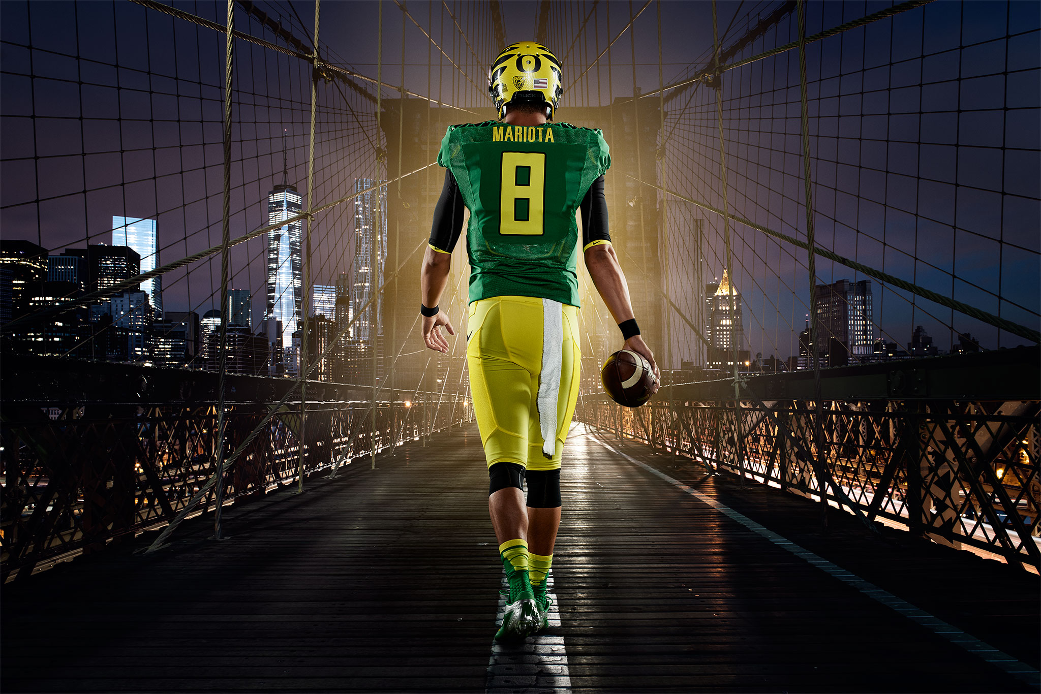 Marcus Mariota Arrives in NYC | Zach Ancell Photography
