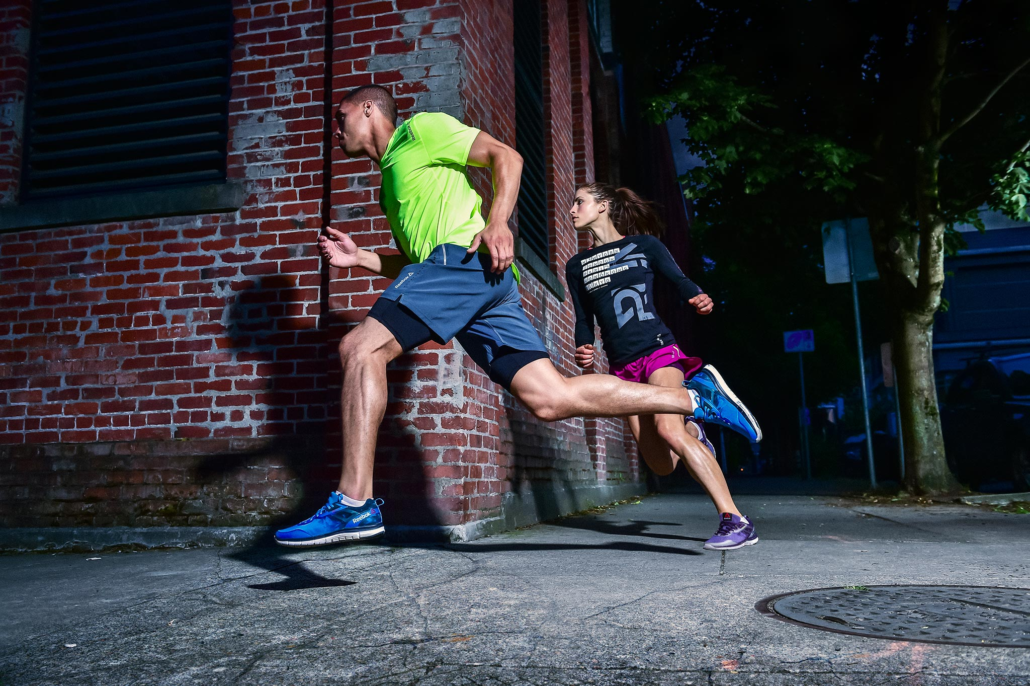 Urban Runners for Reebok | Zach Ancell Photography