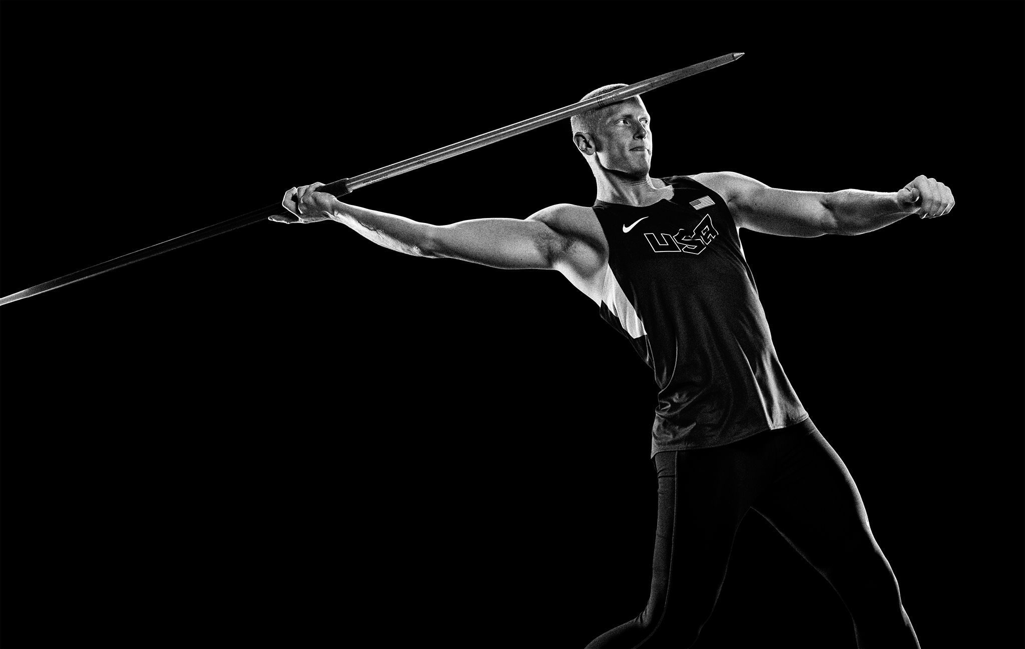 Olympic Javelin Thrower  Cyrus Hostetler | Zach Ancell Photography