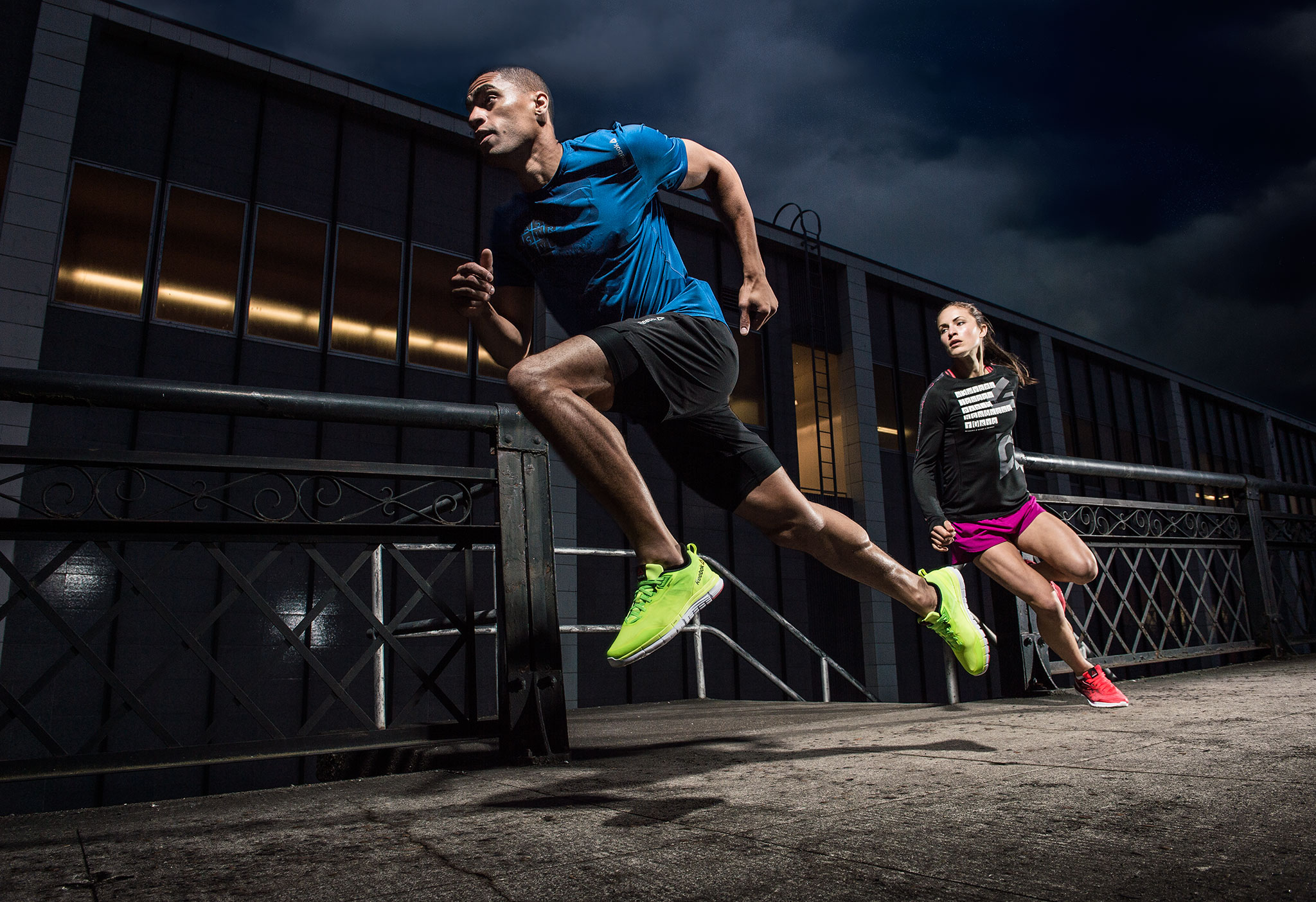 City running for Reebok | Zach Ancell Photography