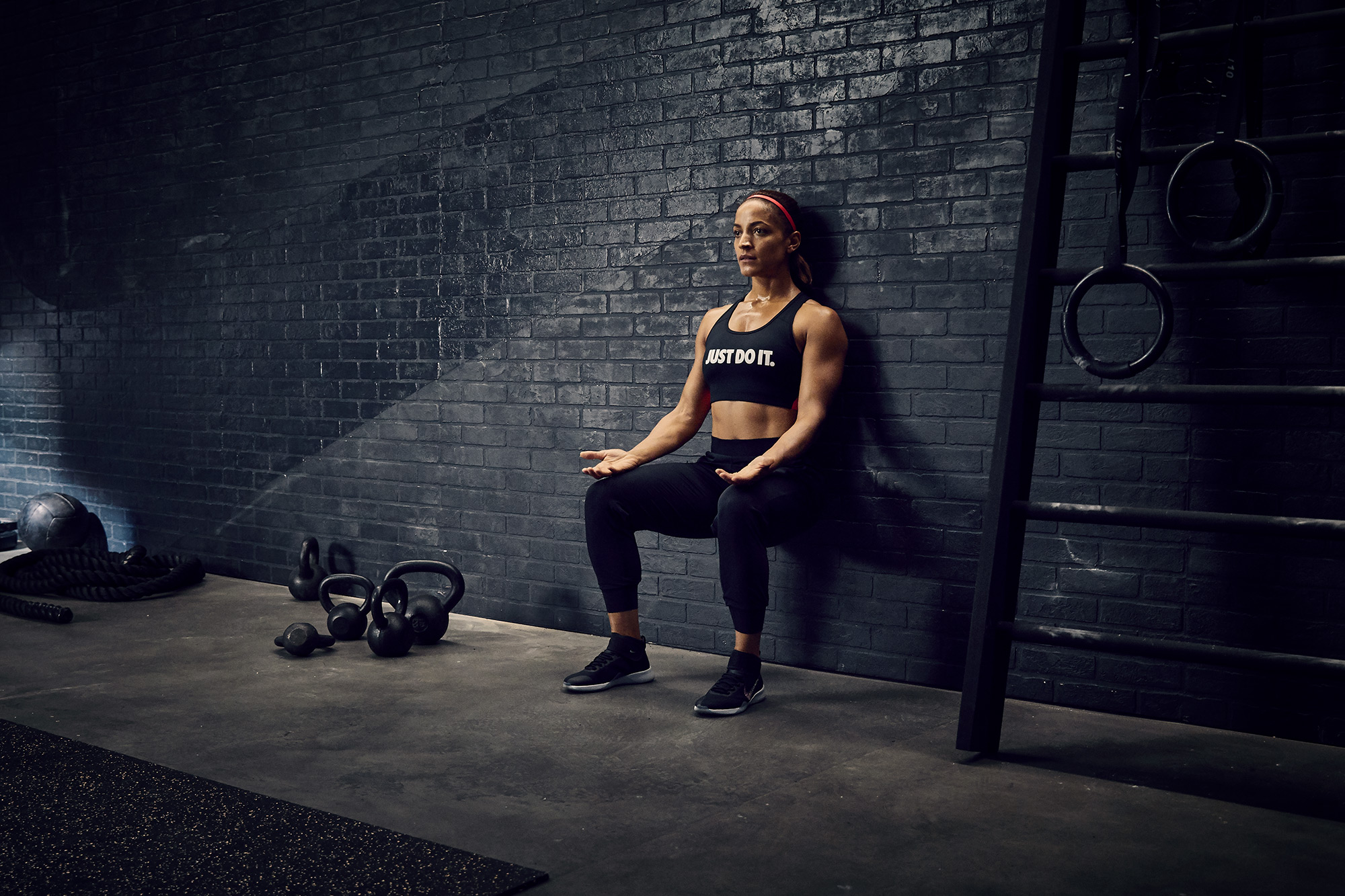Nike NTC Drills - Wall Sit
