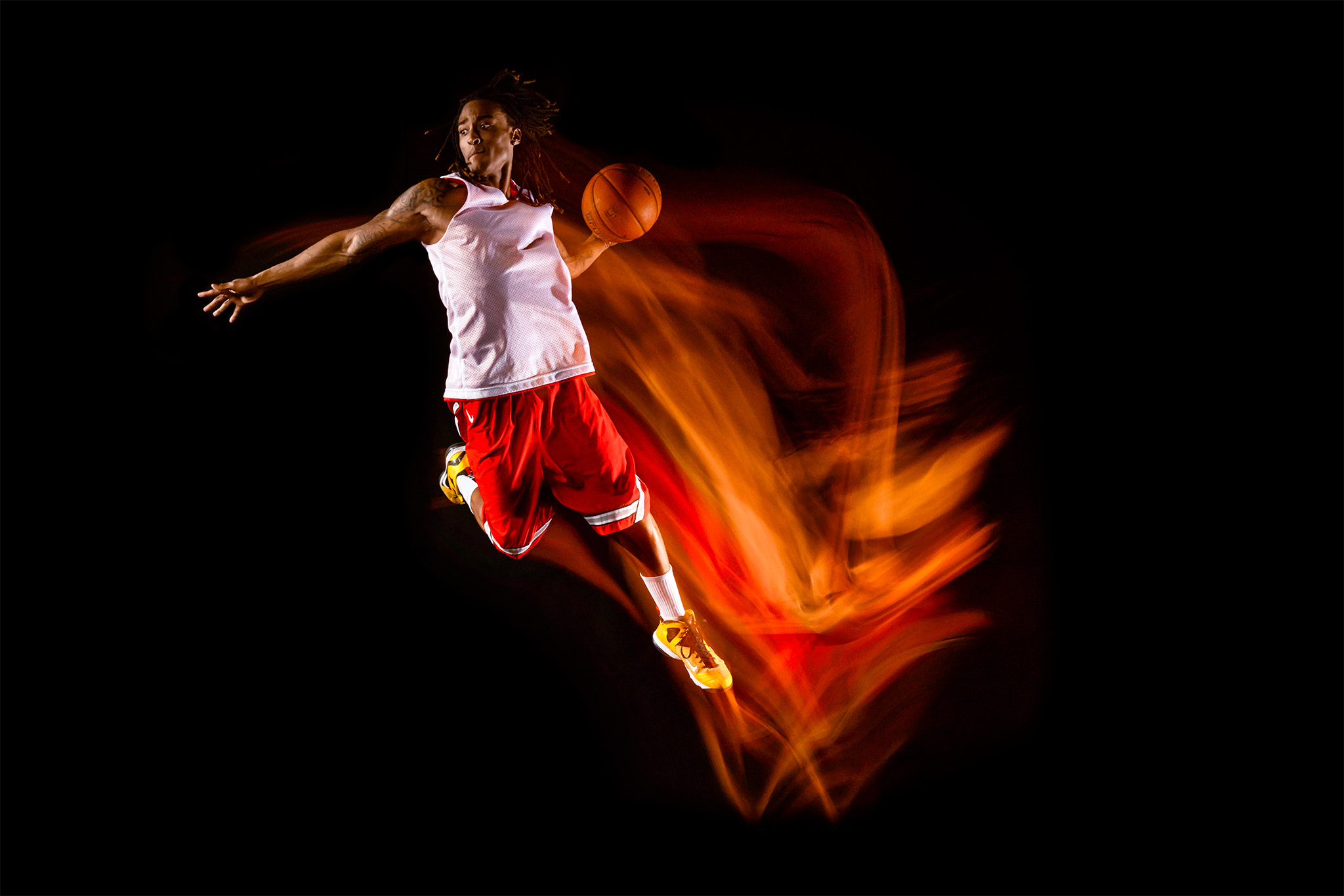 Basketball Dunk Trajectory | Zach Ancell Photography