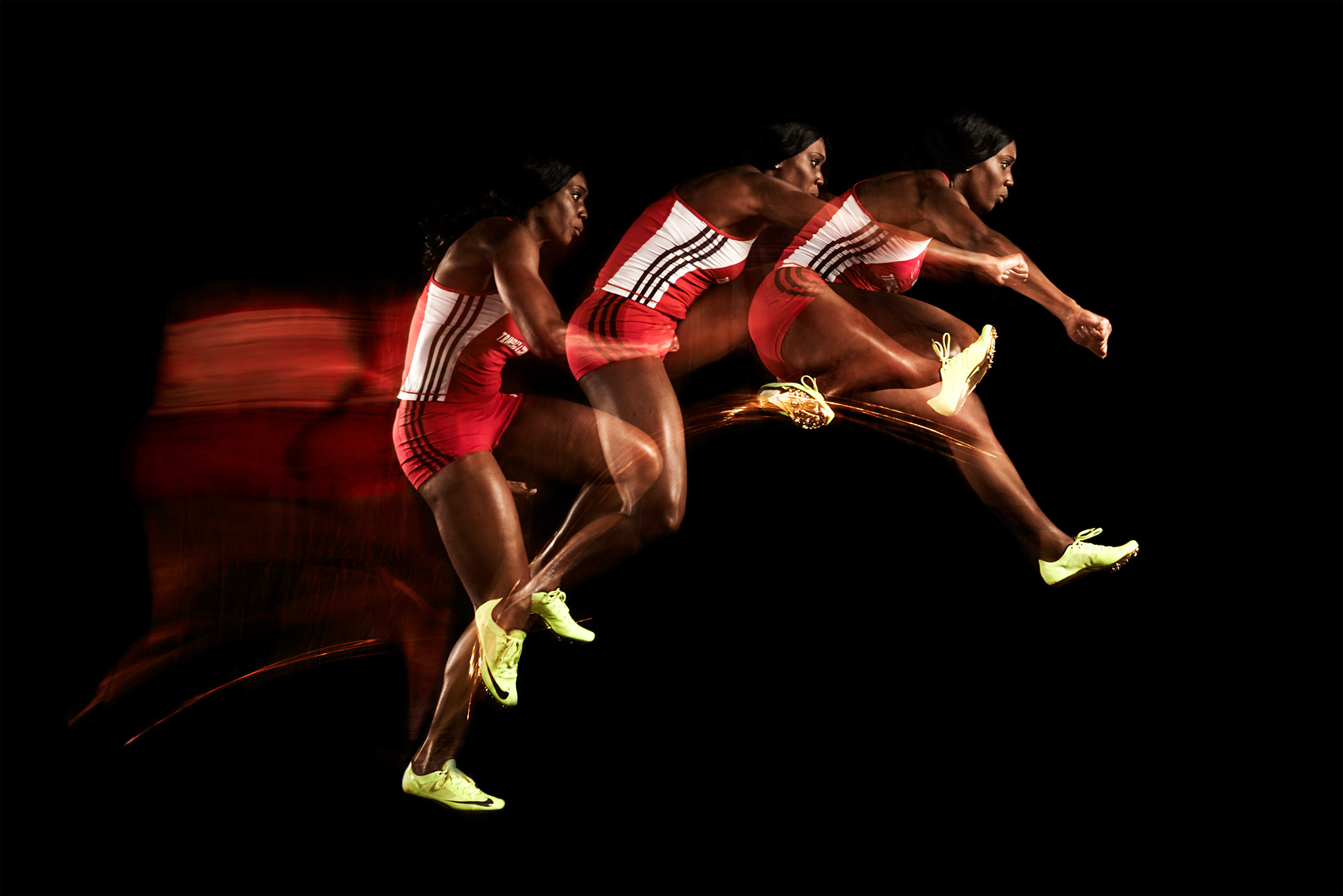 Hurdlers Trajectory Over A Hurdle | Zach Ancell Photography